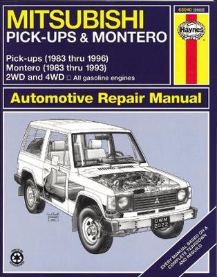 Mitsubishi Montero Pick-up Petrol 1983-1996 Repair Manual