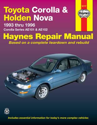 Toyota Corolla & Holden Nova (93 - 96)