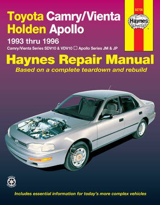 Toyota Camry SDV10, VDV10/Toyota Apollo JM, JP 1993-1996 Repair Manual