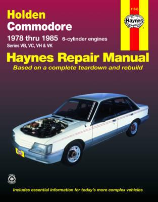Holden Commodore VB, VC, VH, VK 1978-1985 Repair Manual