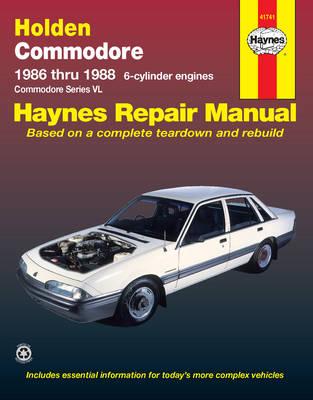 Holden Commodore VL 1986-1988 Repair Manual