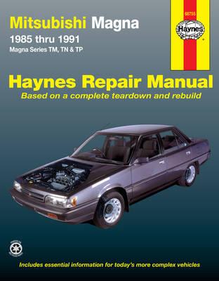 Mitsubishi Magna TM, TN, TP 1985-1991 Repair Manual