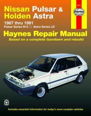 Nissan Pulsar N13 1987-1991/Holden Astra LD 1987-1989 Repair Manual