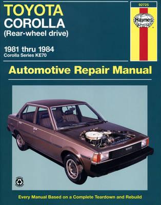 Toyota Corolla KE70 1981-1984 Repair Manual