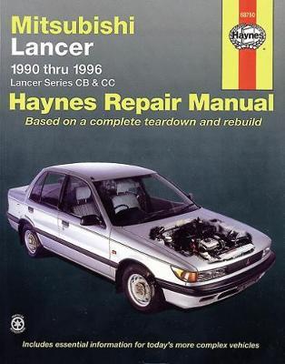 Mitsubishi Lancer CB, CC 1990-1996 Repair Manual