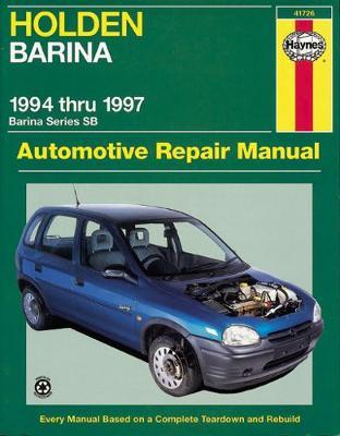 Holden Barina SB 1994-1997 Repair Manual