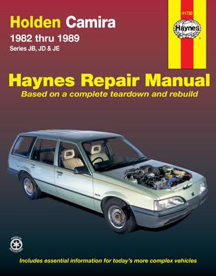 Holden Camira JB, JD, JE 1982-1989 Repair Manual