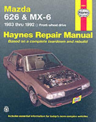 Mazda 626, MX-6 FWD models 1983-1992 Repair Manual