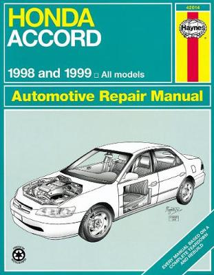 Honda Accord 1998-2002 Repair Manual