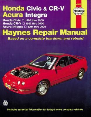 Honda Civic 1996-2000, CR-V 1997-2001, Acura Integra 1994-2000 Repair Manual