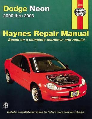 Dodge & Plymouth Neon 2000-2005 Repair Manual