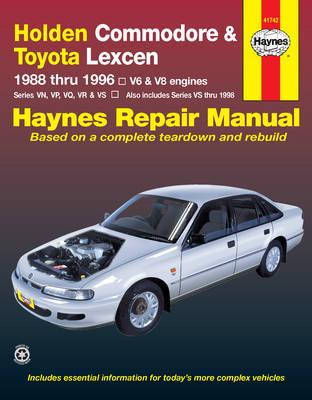 Holden Commodore 1988-1996, Ute 1990-2000/Toyota Lexcen 1989-1997 Repair Manual
