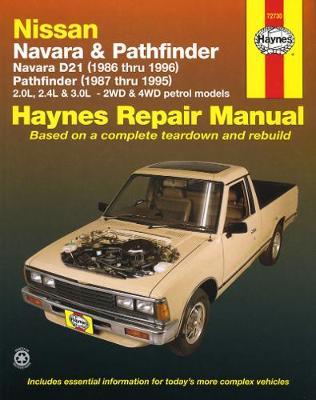 Nissan Navara 1986-1996/Pathfinder D21 1987-1995 Repair Manual