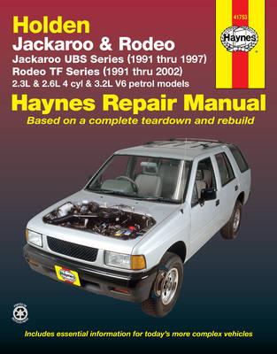 Holden Jackaroo UBS 1991-1997/Rodeo TF 1991-2002 Repair Manual