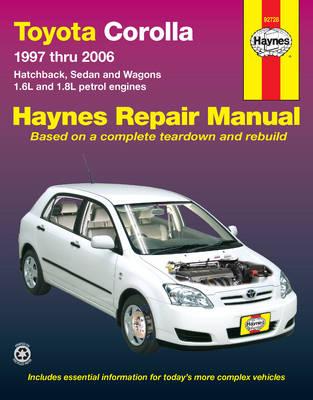 Toyota Corolla AE101, AE102, AE112, ZZE122 1997-2006 Repair Manual