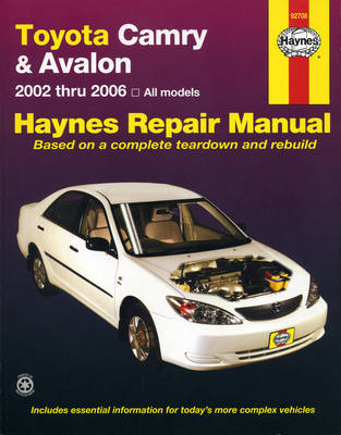 Toyota Camry ACV36R, MCV36R 2002-2006/Avalon MCX10 2000-2006 Repair Manual