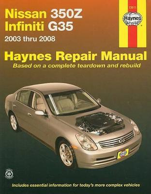Nissan 350Z & Infiniti G35 2003-2008 Repair Manual