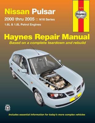 Nissan Pulsar N16 2000-2005 Repair Manual