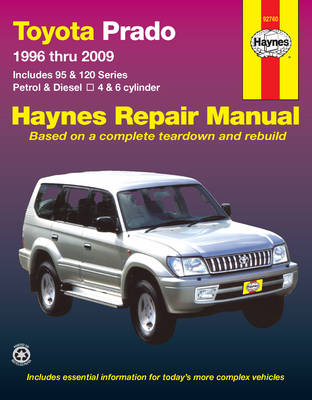 Toyota Prado 95, 120 Series 1996-2009 Repair Manual