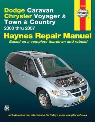 Dodge Caravan, Chrysler Voyager & Town & Country 2003-2007 Repair Manual