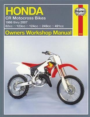Honda CR80R/RB/85R/85RB/CR125R/CR250R/CR500R 1986-2007 Repair Manual