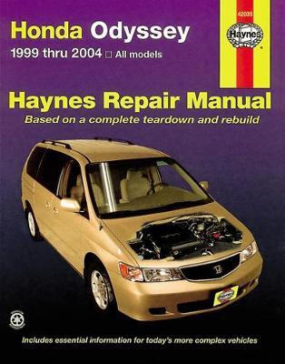 Honda Odyssey 1999-2010 Repair Manual