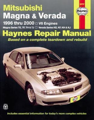 Mitsubishi Magna/Verada TE-TW/KE-KW 1996-2005 Repair Manual