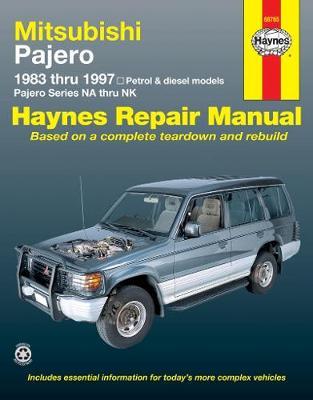 Mitsubishi Pajero NA/NB/NC/ND/NE/NF/NG/NH/NJ/NK 1983-1997 Repair Manual