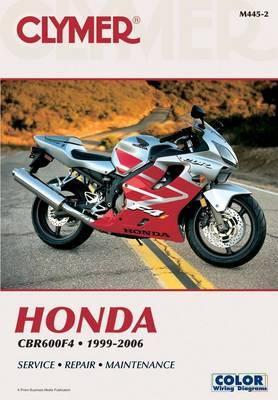 Honda CBR600F4 1999-2006 Repair Manual