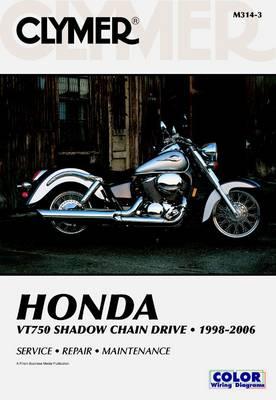 Honda VT750 Shadow Chain Drive 1998-2006 Repair Manual