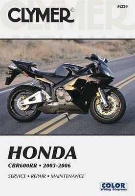 Honda CBR600RR 2003-2006 Repair Manual