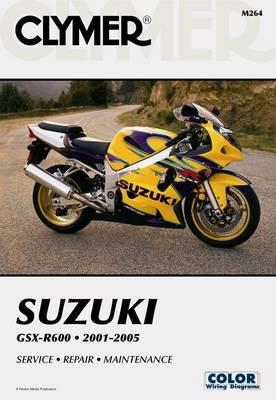 Suzuki GSX-R600 Series 2001-2005 Repair Manual