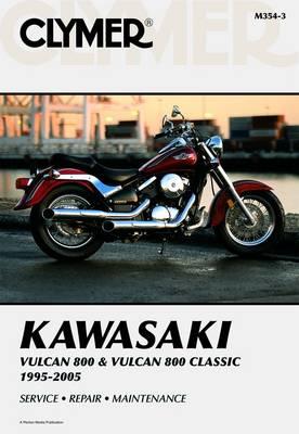 Kawasaki Vulcan 800 & Vulcan 800 Classic 1995-2005 Repair Manual