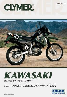 Kawasaki KLR650 1987-2007 Repair Manual