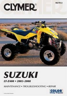 Suzuki LTZ400 Series ATV 2003-2008 Repair Manual