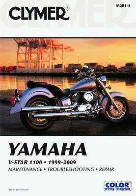 Yamaha V-Star 1100 Series 1999-2009 Repair Manual