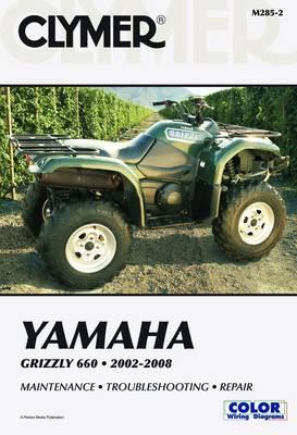 Yamaha YFM660F Grizzly 660 ATV 2002-2008 Repair Manual