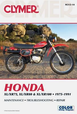 Honda XL/XR75, XL/XR80 & XL/XR100 Series 1975-1991 Repair Manual