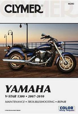 Yamaha V-Star 1300 Series 2007-2010 Repair Manual