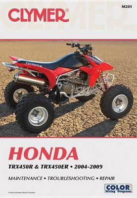 Honda TRX450 Series ATV 2004-2009 Repair Manual
