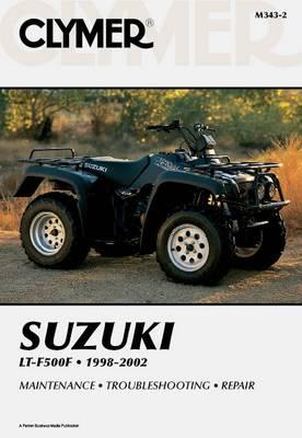 Suzuki LTF500 Series Quad Runner ATV 1998-2002 Repair Manual
