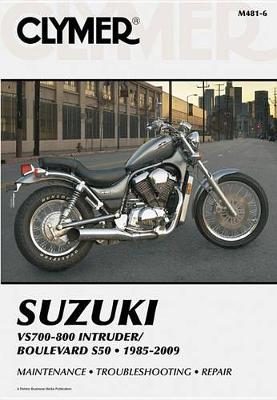 Suzuki VS700-800 Intruder/Boulevard S50 1985-2009 Repair Manual