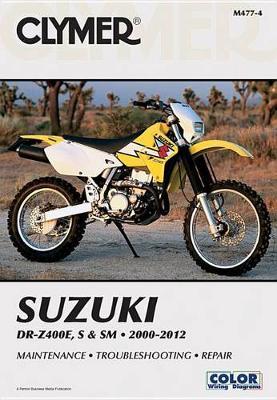 Suzuki DR-Z400E, S & SM 2000-2012 Repair Manual