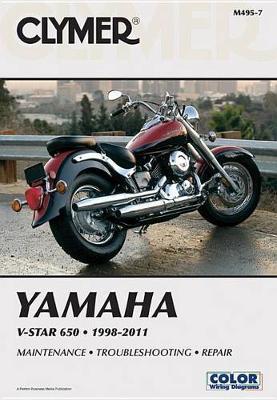 Yamaha V-Star XVS650 1998-2011 Repair Manual