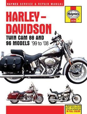 Harley-Davidson Twin Cam 88, 96 & 103 Models (99-10): 99-10