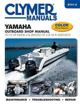 Clymer Yamaha 75-250 Hp 4-Stroke Outboards: 2000-2013