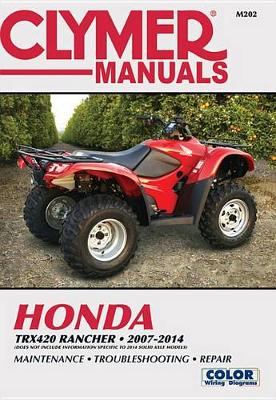 Clymer Honda TRX420 Rancher ATV: 07-14