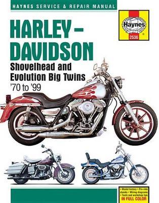 Harley-Davidson Shovelhead & Evolution Big Twins (70 - 99): 1970 - 1999