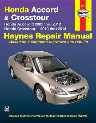 Honda Accord & Crosstour (03-14): 2003-14