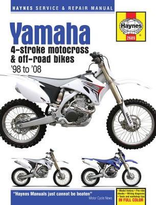 Yamaha YZ & WR 4-Stroke Motocross & Off-road Bikes (98 - 08)